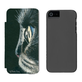 Caixa da carteira do SE 5/5s do iPhone da arte do Capa Carteira Incipio Watson™ Para iPhone 5
