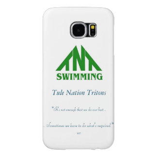 Caixa da galáxia 7 de Samsung do logotipo de TNT Capa Para Samsung Galaxy S6