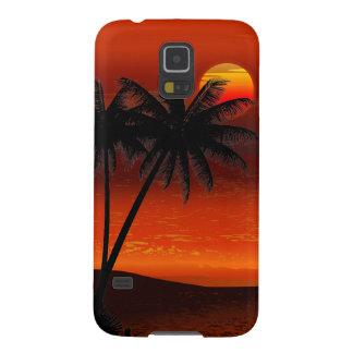 Caixa da galáxia S5 de Landscapey Samsung do mar Capinhas Galaxy S5