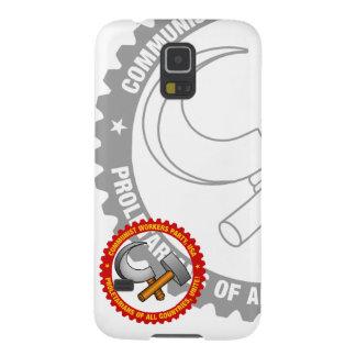 Caixa da galáxia S5 de Samsung com logotipo do Capa Para Galaxy S5