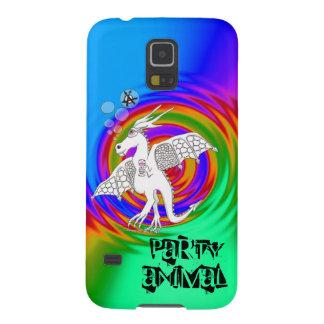 caixa da galáxia S5 de Samsung do animal de partid Capinhas Galaxy S5