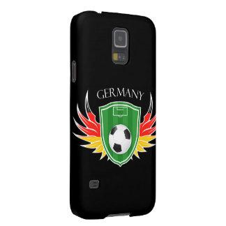 Caixa da galáxia S5 de Samsung do futebol de Capas Par Galaxy S5