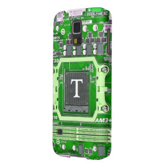 Caixa da galáxia S5 de Samsung do geek de Intial Capinhas Galaxy S5