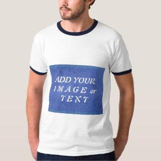 Caixa da imagem do texto do modelo da pérola do camisetas