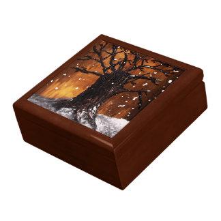 Caixa da lembrança de Wintertree 3 Caixa De Presente
