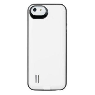 Caixa de bateria rara da galeria do poder do capa carregador para iPhone SE/5/5s