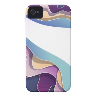 Caixa de Blackberry com design abstrato Capa Para iPhone 4 Case-Mate
