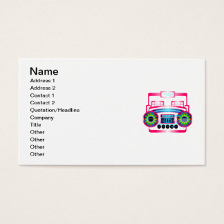 Caixa de crescimento cartão de visitas