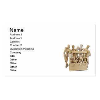 Caixa de ferramentas da inspiração cartão de visita