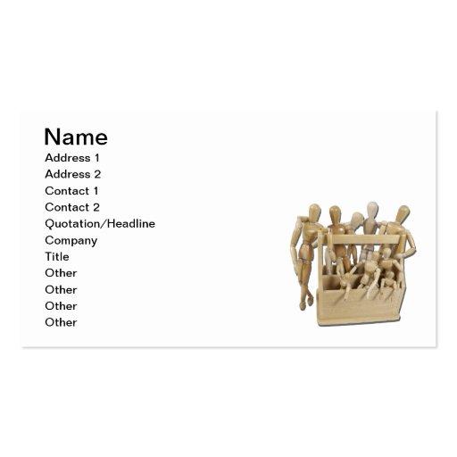 Caixa de ferramentas da inspiração cartões de visita