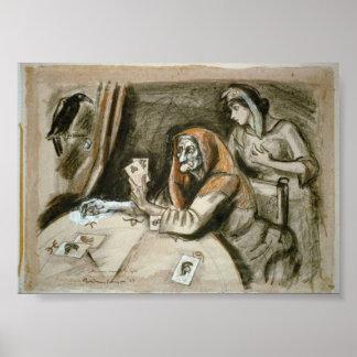 Caixa de fortuna France do poster da história