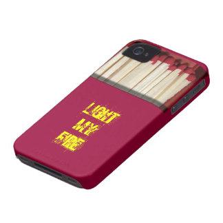 Caixa de fósforos engraçada capas para iPhone 4 Case-Mate