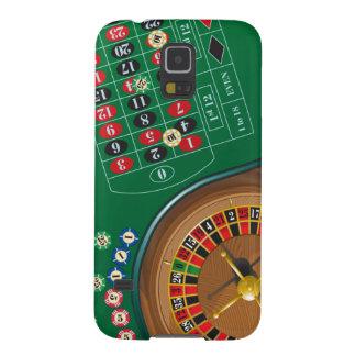 Caixa de jogo da galáxia S5 da mesa do casino da Capas Par Galaxy S5