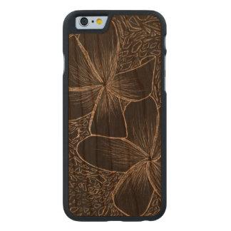caixa de madeira da cereja abundante do iPhone