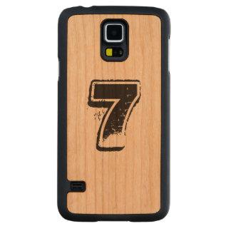 Caixa de madeira personalizada de Samsung S5 Case Slim De Cerejeira Para Galaxy S5