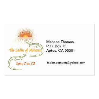 Caixa de P.O. 13Aptos de MEHANA Thomas,… Modelo Cartoes De Visitas