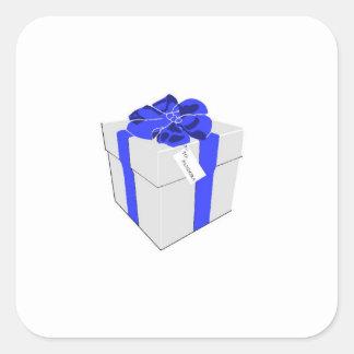 Caixa de Pandora Adesivo Quadrado
