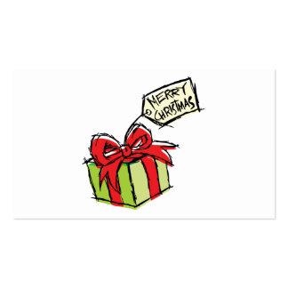 Caixa de presente bonito feita sob encomenda com modelos cartões de visitas
