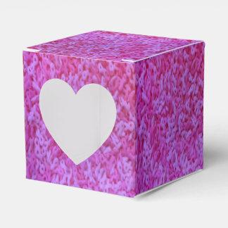 Caixa de presente cor-de-rosa da consciência do
