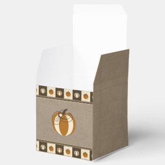 Caixa de presente da abóbora