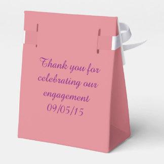 Caixa de presente da festa de noivado caixinha de lembrancinhas para festas