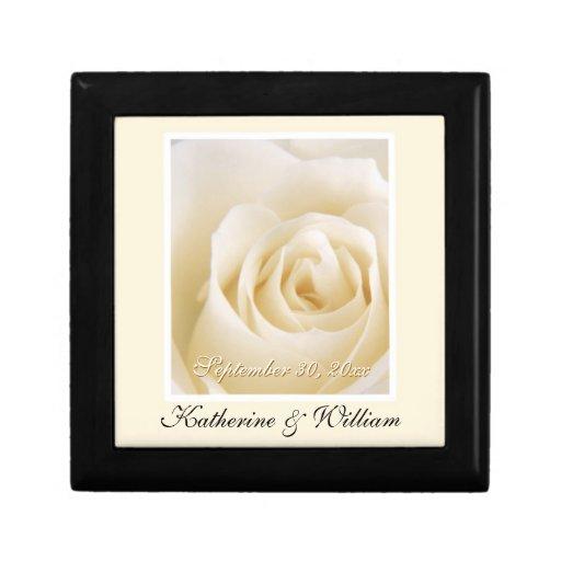 Caixa de presente da lembrança da data do casament