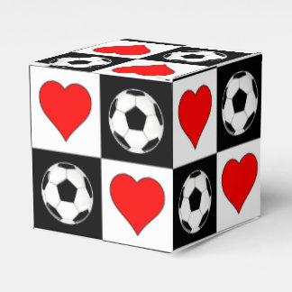 Caixa de presente das bolas & dos corações de