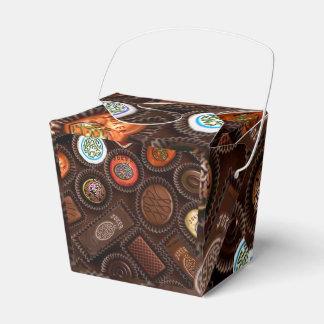 Caixa de presente dos chocolates de Mahj
