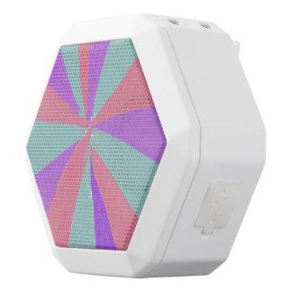 Caixa De Som Branca Com Bluetooth Auto-falante da imagem do fogo-de-artifício