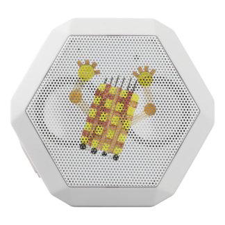 Caixa De Som Branca Com Bluetooth Auto-falante de patinagem de REX de Boombot do