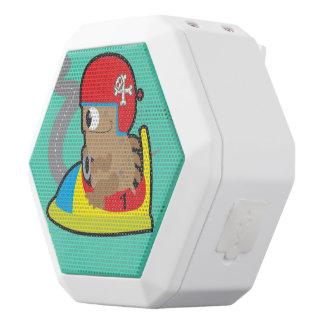 Caixa De Som Branca Com Bluetooth Auto-falante de REX de Boombot com condução do