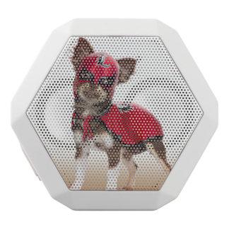 Caixa De Som Branca Com Bluetooth Cão do libre de Lucha, chihuahua engraçada,