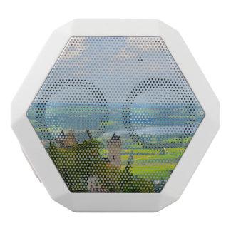 Caixa De Som Branca Com Bluetooth Castelo de Neuschwanstein em Baviera Alemanha