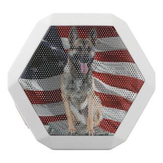 Caixa De Som Branca Com Bluetooth dog_fla 000