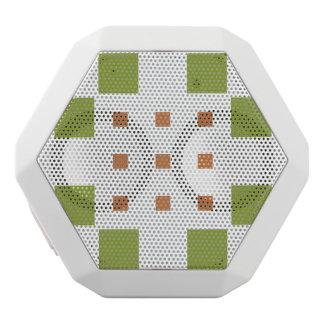 Caixa De Som Branca Com Bluetooth Dylo/REX feito sob encomenda de Boombot, branco