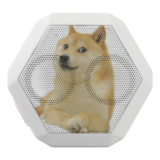 Caixa De Som Branca Com Bluetooth meme do doge - doge cão-bonito do doge-shibe-doge