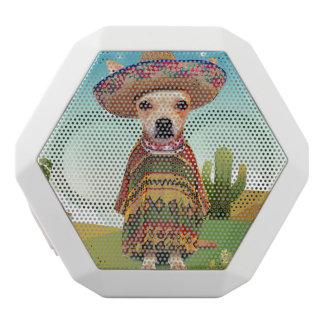 Caixa De Som Branca Com Bluetooth mexicano 000