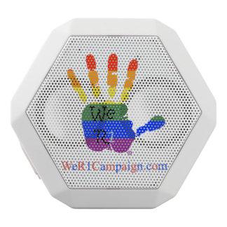 Caixa De Som Branca Com Bluetooth Nós auto-falante de Bluetooth da mão do arco-íris