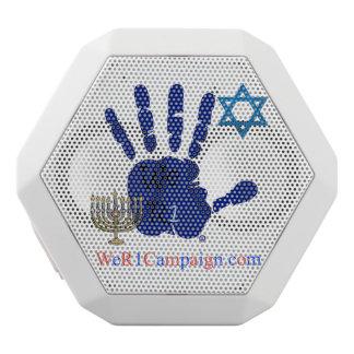 Caixa De Som Branca Com Bluetooth Nós auto-falante judaico de Bluetooth da mão R1