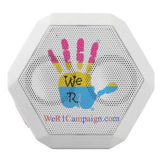 Caixa De Som Branca Com Bluetooth Nós auto-falante Pansexual de Bluetooth da mão R1