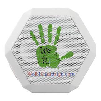 Caixa De Som Branca Com Bluetooth Nós auto-falante verde de Bluetooth da mão R1