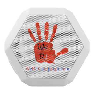 Caixa De Som Branca Com Bluetooth Nós auto-falante vermelho de Bluetooth da mão R1
