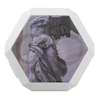 Caixa De Som Branca Com Bluetooth Vitória voada de Samothrace, Louvre, Paris
