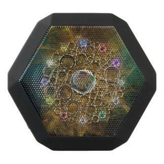 Caixa De Som Preta Com Bluetooth A CONEXÃO DA PROSPERIDADE: Gemas da fortuna