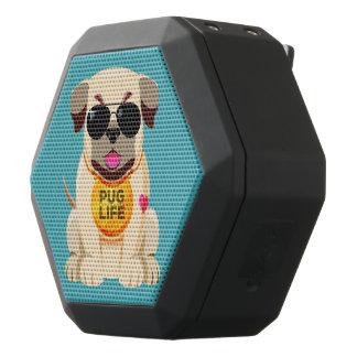 Caixa De Som Preta Com Bluetooth Auto-falante do bluetooth da vida do Pug