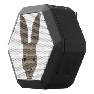 Caixa De Som Preta Com Bluetooth Cara do canguru