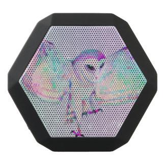 Caixa De Som Preta Com Bluetooth Coruja majestosa