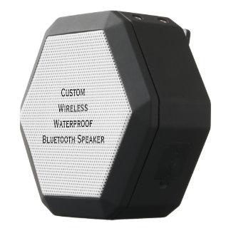Caixa De Som Preta Com Bluetooth Criar o rádio baixo personalizado costume do