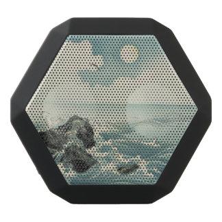 Caixa De Som Preta Com Bluetooth Gravura da ilha de Kojima - auto-falante de