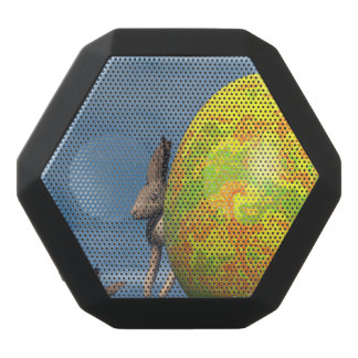 Caixa De Som Preta Com Bluetooth Ovo da páscoa - 3D rendem